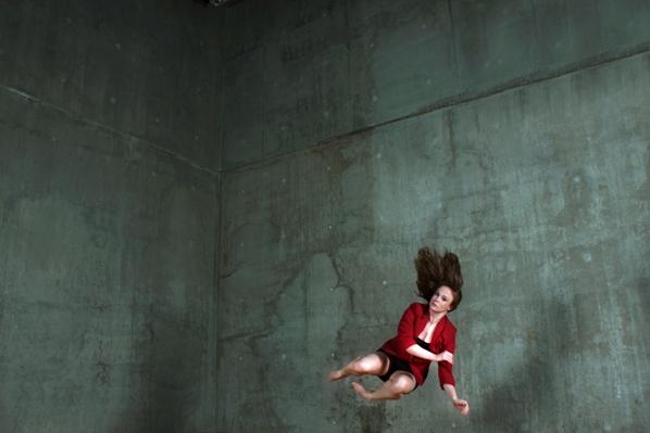Erin Harty in Corporalis    photo: David Severn