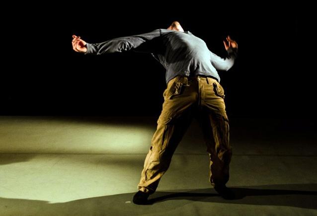 John Ross in Man Down. Photo: Chantal Guevara