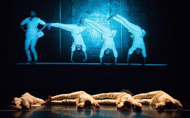 Phoenix Dance Theatre in Darshan Singh Bhuller's Mapping (photo: Tony Nandi)