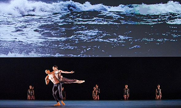 Federico Bonelli and Alessandra Ferri in Wayne McGregor's Woolf Works (photo: Tristram Kenton)
