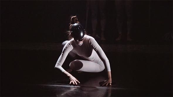 Neon Dance in Empathy (screen shot from filmmaker Tom Schumann)