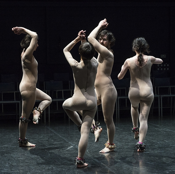Eveline Van Bauwel, Cecilia Lisa Eliceche, Michael Helland and Manon Santkin in Unison (photo: