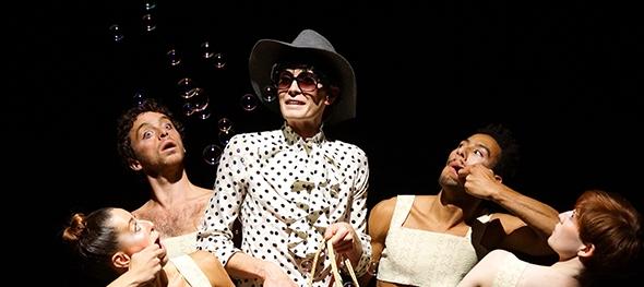 Members of Impermanence Dance Theatre in SEXBOX (photo: Jeremy Reider)