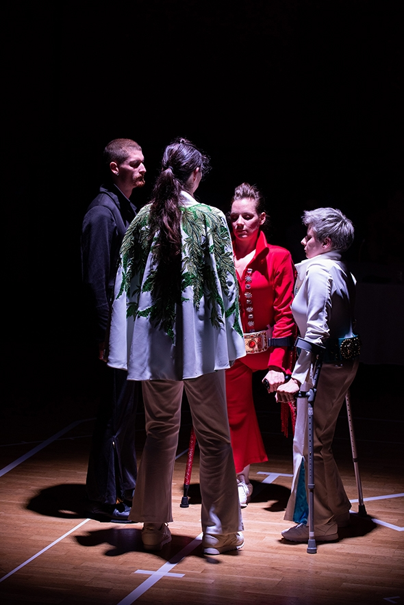 Claire Cunningham in Thank You Very Much at Manchester International Festival